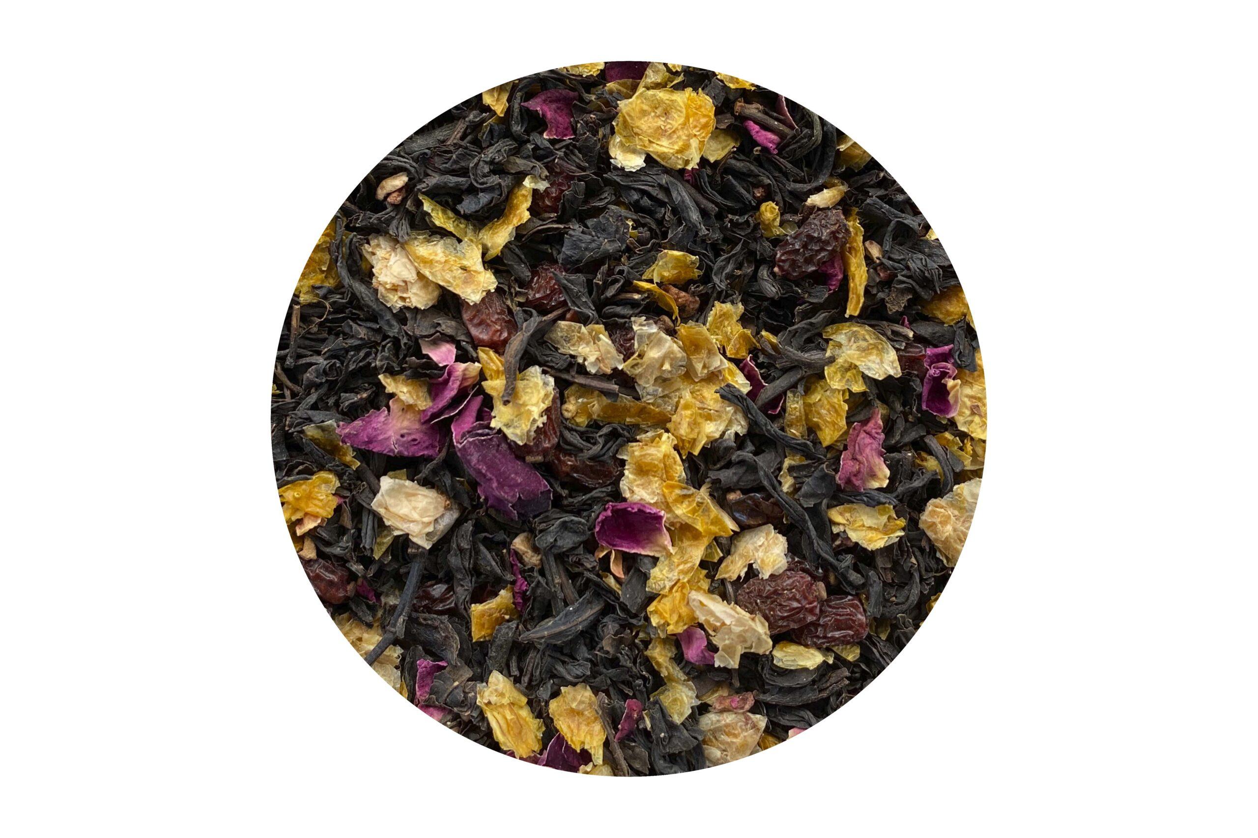Herbata Czarna Żurawinowa 100g