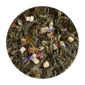 Herbata Zielona Tropikalna Wyspa 100g