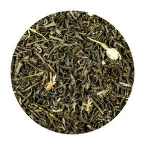 Herbata Zielona Jaśminowa z Kwiatami 100g