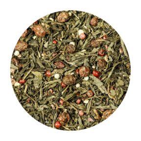 Herbata Zielona Truskawka z Pieprzem 100g