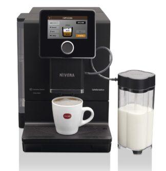 Ekspres ciśnieniowy do kawy NIVONA 960 + 1kg Kawy Brazylia GRATIS - matowa czerń