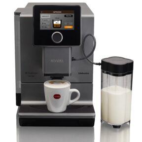 Ekspres ciśnieniowy do kawy NIVONA 970 + 1kg Kawy Brazylia GRATIS - tytanowy