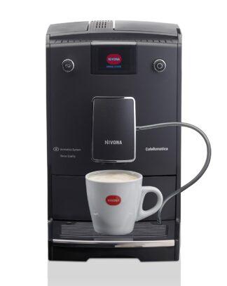Ekspres ciśnieniowy do kawy NIVONA 759 + 1kg Kawy Brazylia GRATIS - matowa czerń