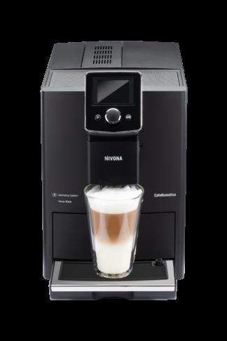 Ekspres ciśnieniowy do kawy NIVONA 820 + 3 kg Kawy Brazylia GRATIS - matowa czerń