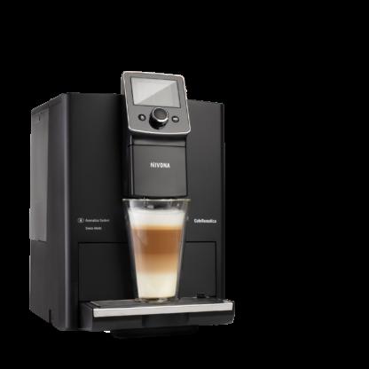 Ekspres ciśnieniowy do kawy NIVONA 820 + 1 kg Kawy Brazylia GRATIS - matowa czerń