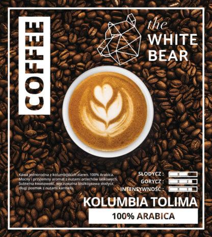 Kawa Kolumbia Tolima 1000g