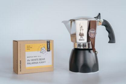 Bialetti New Brikka 4tz + 250g kawy