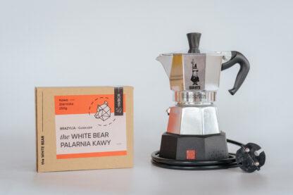 Bialetti Elettrika 2tz + 250g kawy