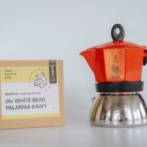 Bialetti Moka Induction 3tz + 250g kawy