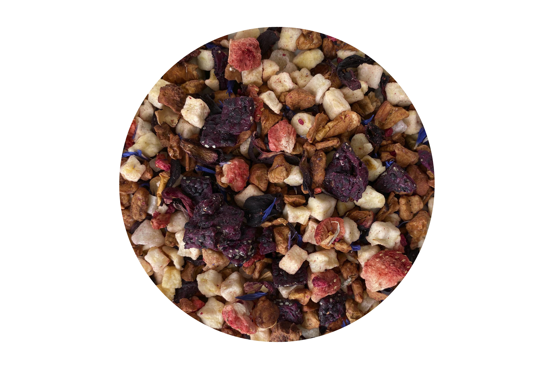 Herbata Owocowa Truskawka z Rabarbarem 50g