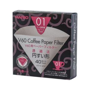 Filtry papierowe Hario V60-01