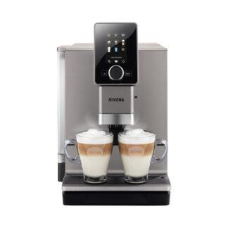 Ekspres ciśnieniowy do kawy NIVONA 930 + 6 kg Kawy Kolumbia GRATIS - tytanowy