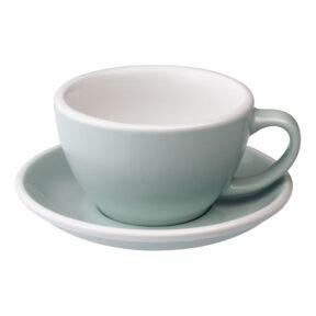 Filiżanka Cafe Latte 300ml ze spodkiem, seria EGG od LOVERAMICS