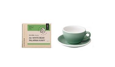 Zestaw Kawa 250g + Filiżanka 200ml