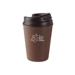 Ekologiczny kubek z łuski kawowej