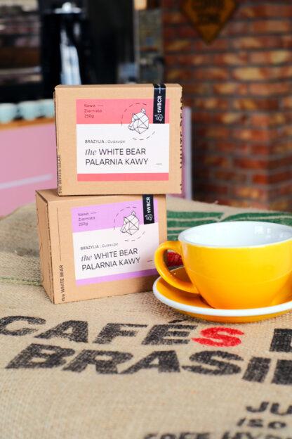 Filiżanka Loveramics 300 ml, kawa Brazylia Guaxupe (A) 250 g, Brazylia Guaxupe 250 g