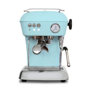 Ekspres ciśnieniowy kolbowy do kawy Ascaso Dream One -błękitny