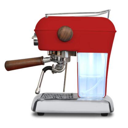Ekspres ciśnieniowy kolbowy do kawy Ascaso Dream Pid- czerwony