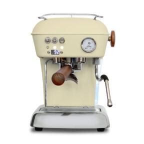 Ekspres ciśnieniowy kolbowy do kawy Ascaso Dream Pid- kremowy