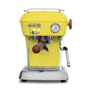 Ekspres ciśnieniowy kolbowy do kawy Ascaso Dream Pid- żółty