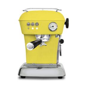 Ekspres ciśnieniowy kolbowy do kawy Ascaso Dream Zero- żółty