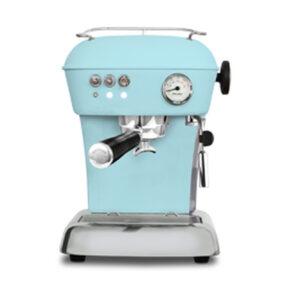 Ekspres ciśnieniowy kolbowy do kawy Ascaso Dream Zero- błękitny