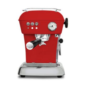 Ekspres ciśnieniowy kolbowy do kawy Ascaso Dream Zero- czerwony
