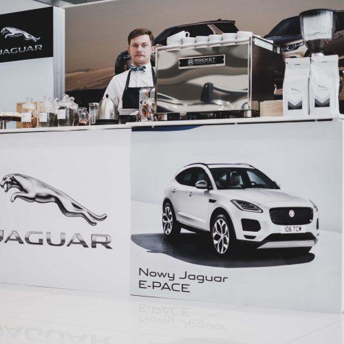 degustacja kawy na prezentacji jaguar