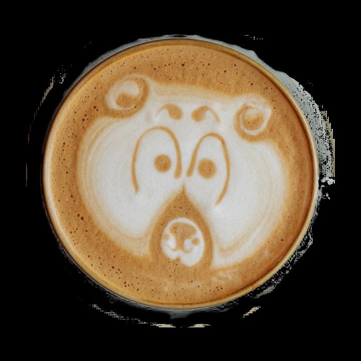 kawa z obrazkiem