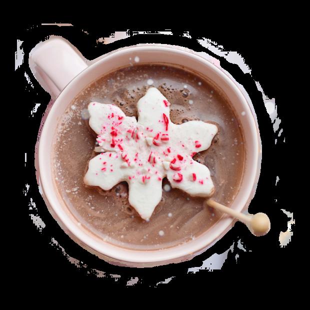 gorąca czekolada z dodatkami