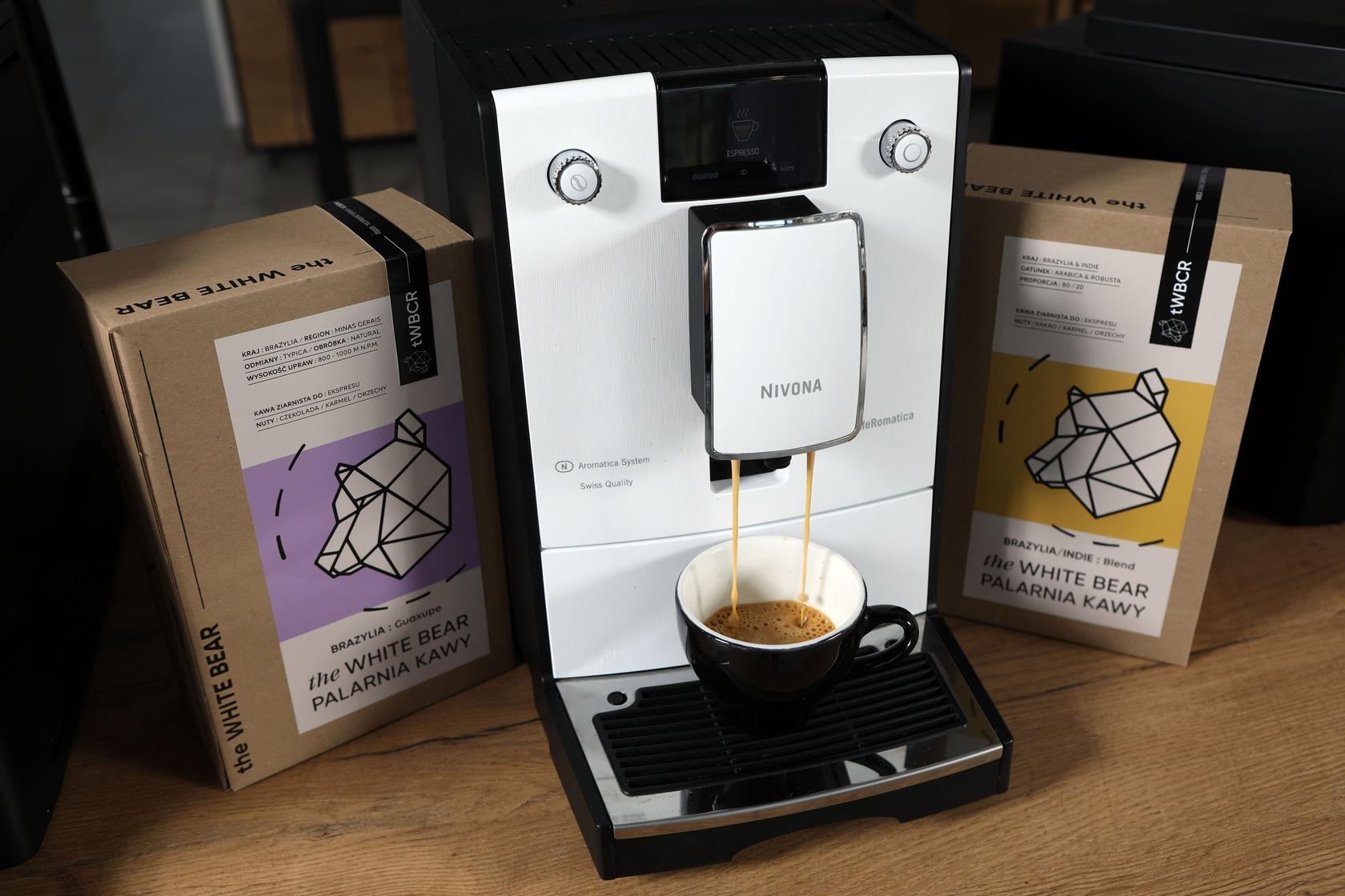 kawa i ekspresy do biur