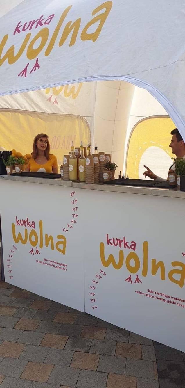 Bar smoothies z logo klienta - kurka wolna