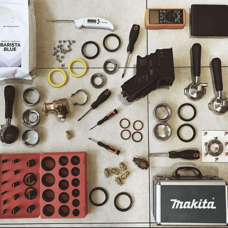Makita - mobilny barista