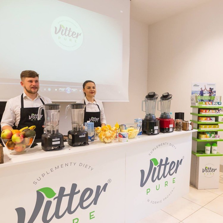 Bar z sokami, smoothies - Vitter Pure